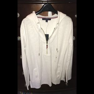 NWT Tommy Hilfiger Front-Zip Pullover Hoodie